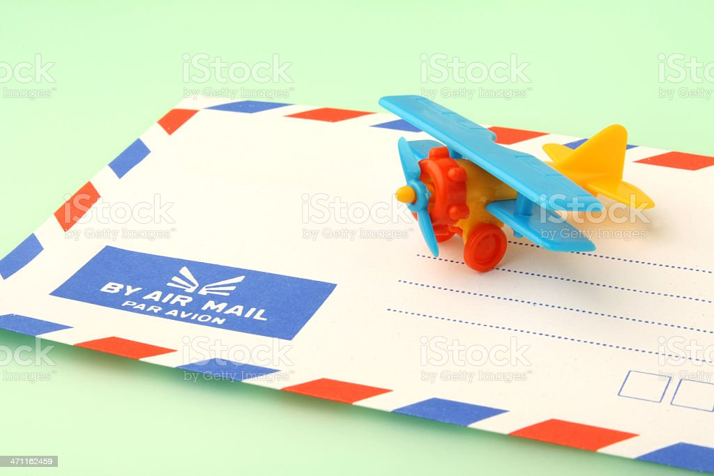 Airmail stock photo