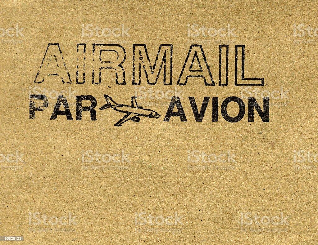 Airmail royalty-free stock photo