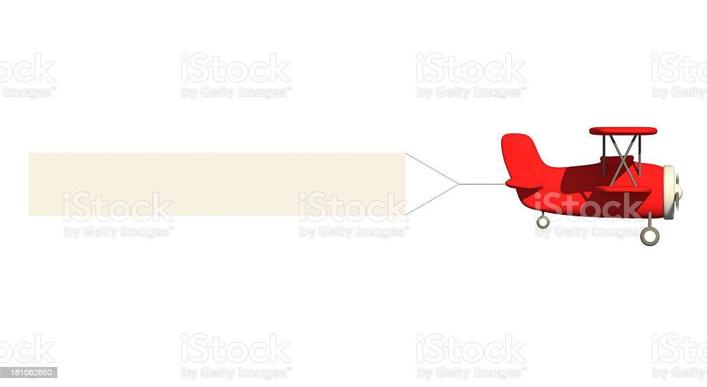 Avion de publicité - Photo