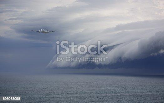 Airplane avoiding problem: epic storm