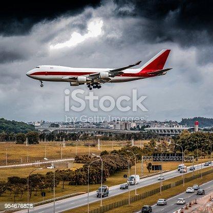 Aircraft Cargo, Guarulhos, SP - Brazil.