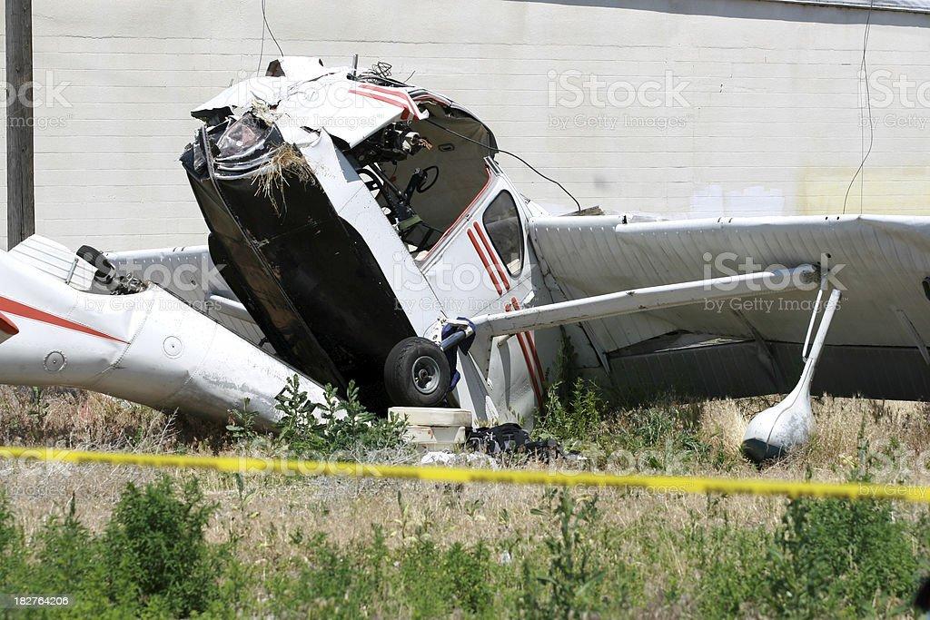 Airplane Crash royalty-free stock photo