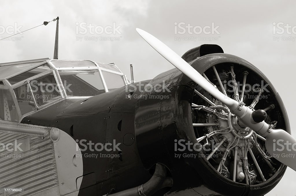 Airplane Detail royalty-free stock photo