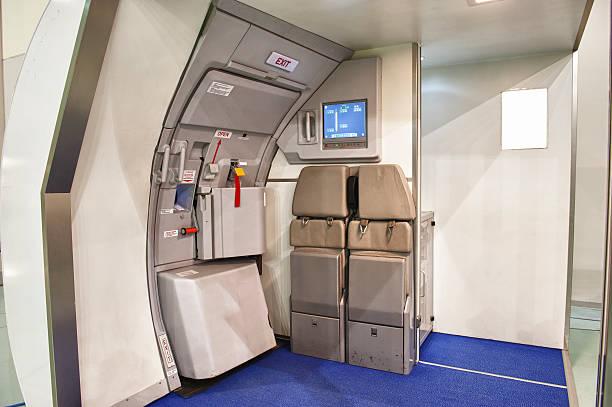 Flugzeug Notausgang Tür – Foto