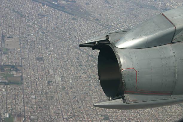 flugzeug-motor - elemi stock-fotos und bilder