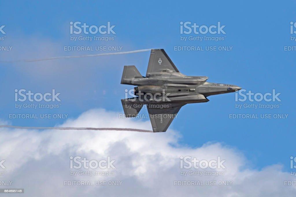 jet avión de caza F-35 Lightning stealth - foto de stock