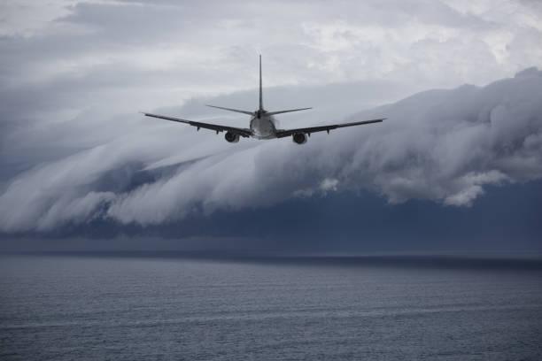 飛機面臨的問題未來: 史詩風暴 - 亂流 個照片及圖片檔
