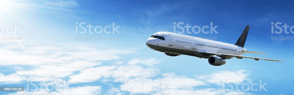 Airplane fly