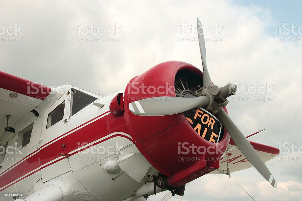 Airplane for Sale royalty-free stock photo