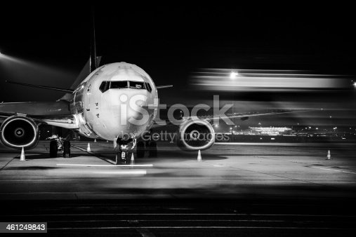 istock airplane front close-up 461249843
