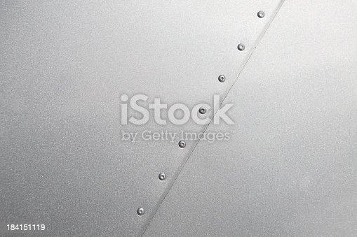 istock Airplane fuselage seam background 184151119
