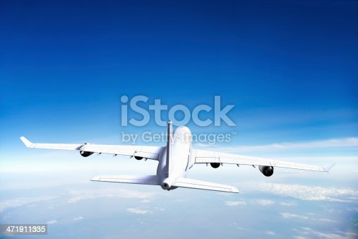 155380716 istock photo Airplane in Flight 471911335