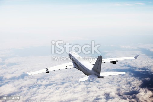 155380716 istock photo Airplane in Flight 512173991