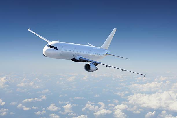 飛行機のスカイ - 飛行機 ストックフォトと画像