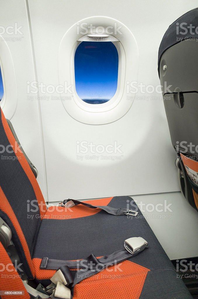 Brilliant Airplane Interior Empty Window And Center Seats Stock Photo Inzonedesignstudio Interior Chair Design Inzonedesignstudiocom