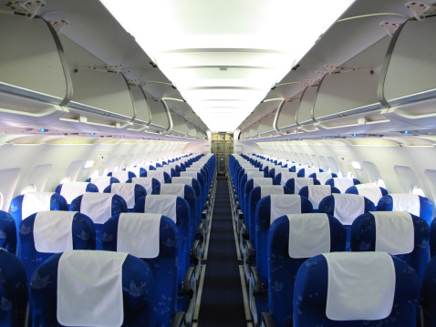 Airplane Interior 照片檔及更多 Generic 照片