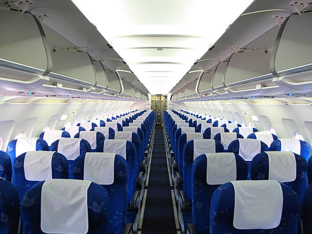 Best Airplane Interior Stock Photos Pictures Amp Royalty