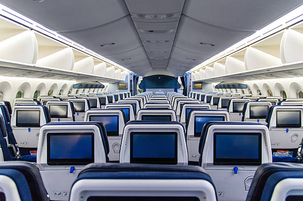 Airplane Interior Airplane Interior. airplane seat stock pictures, royalty-free photos & images