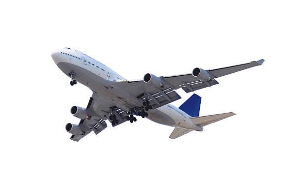 Flugzeug auf Weiß – Foto