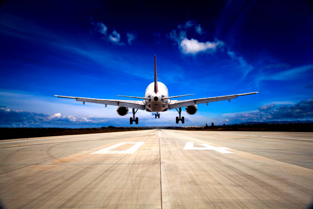 Flugzeuglandung – Foto