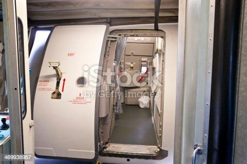 istock Airplane Main Cabin Door 469938957