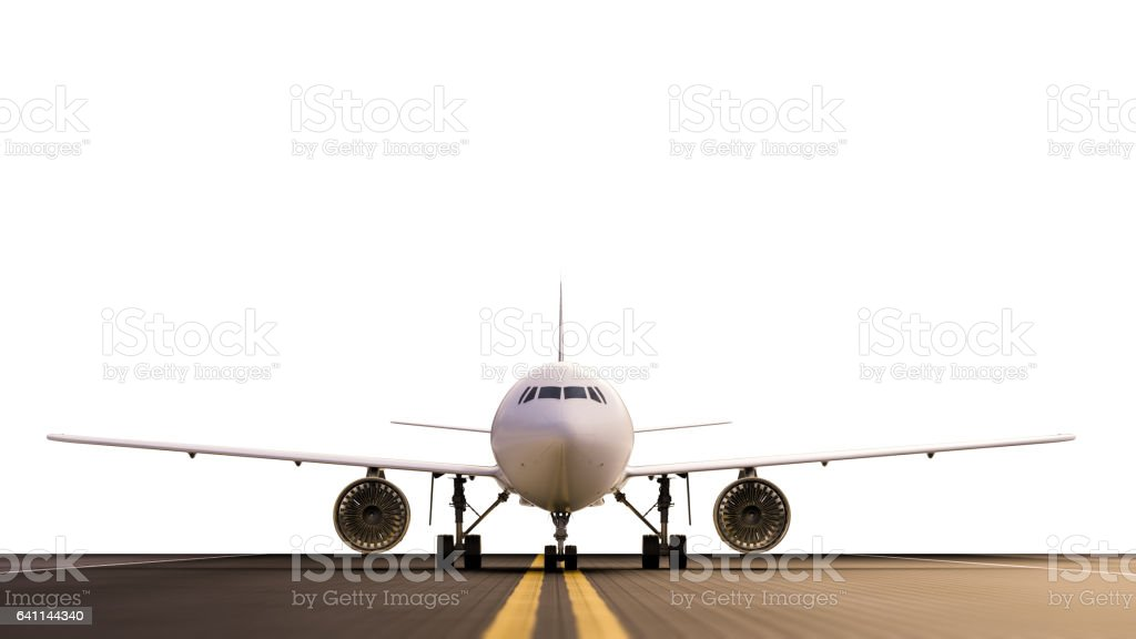 Avion sur la piste - Photo