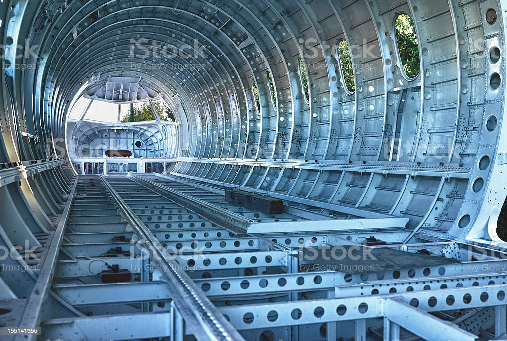 Airplane Part. Color Image royalty-free stock photo