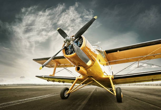 airplane - airshow stock photos and pictures