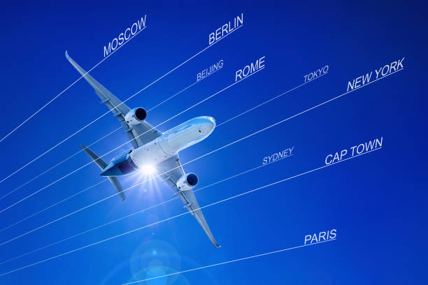 airplane - target australia stock pictures, royalty-free photos & images