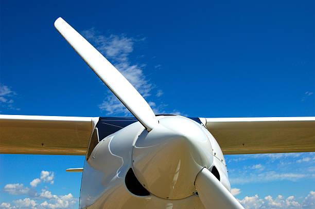 flugzeug - flugschule stock-fotos und bilder
