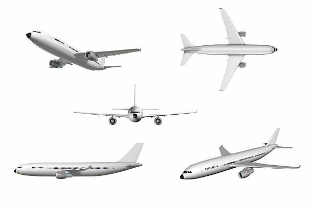 avión - avión fotografías e imágenes de stock