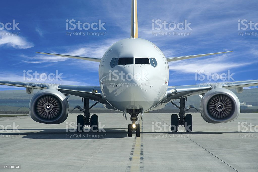 Airplane royalty-free stock photo