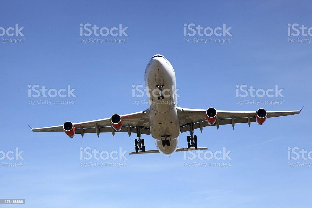 airplane royalty-free stock photo