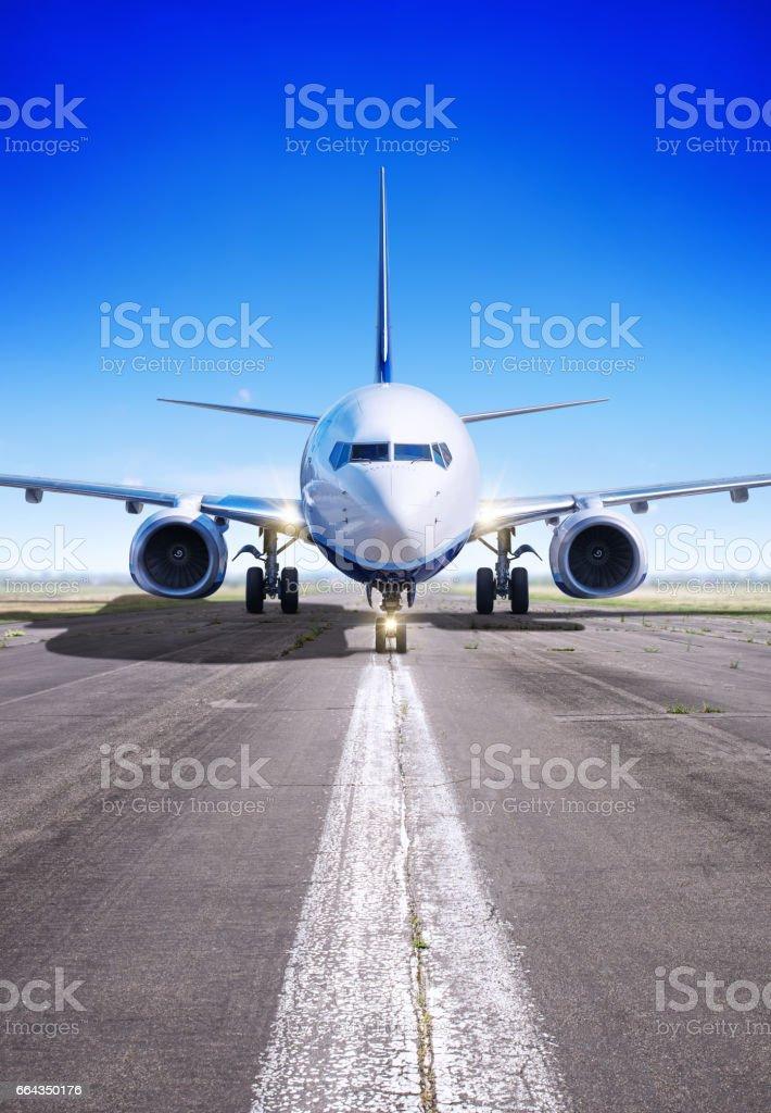 airplane - foto stock