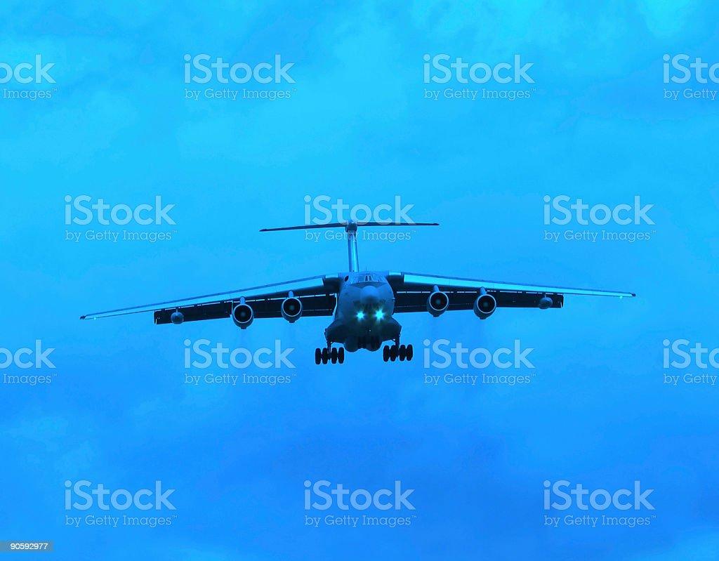 Airplane series royalty-free stock photo