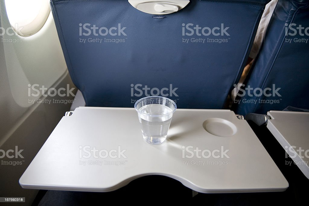 Airplane Service stock photo
