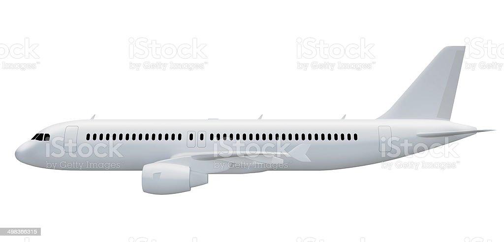 Vue de côté d'avion - Photo