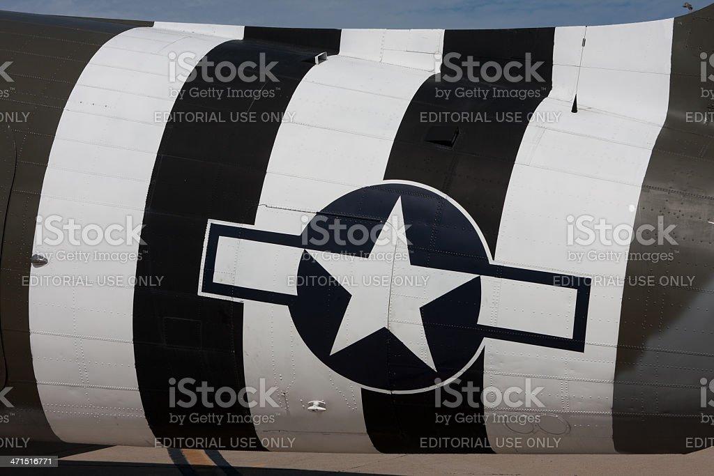 Airplane Tail End Logo stock photo