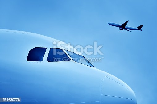 istock Airplane Take Off 531630778