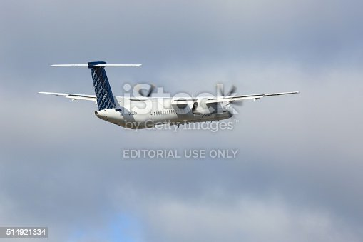 155380716 istock photo Airplane that has just taken off 514921334