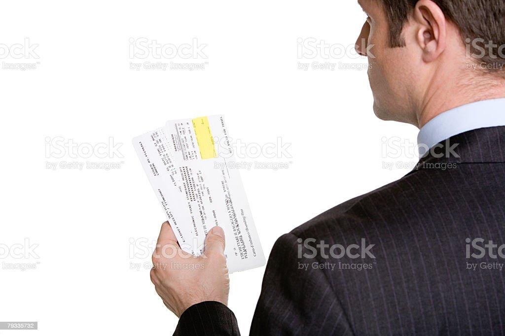 Airplane tickets 免版稅 stock photo