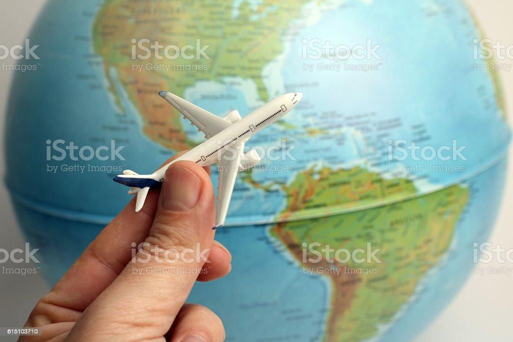 Voyage en avion - Photo