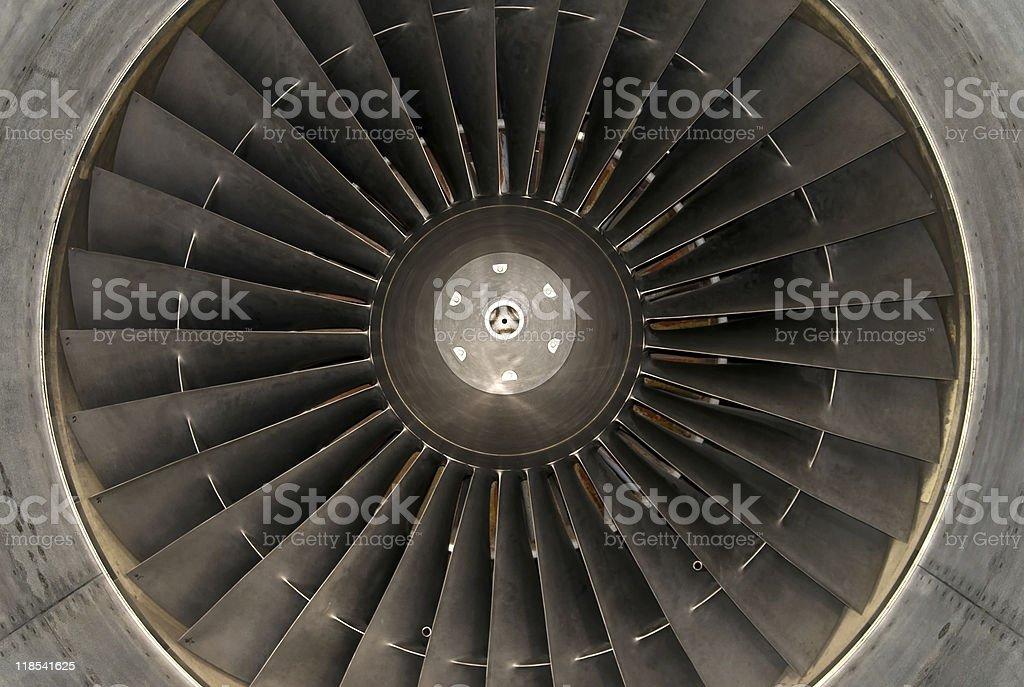 airplane turbine royalty-free stock photo