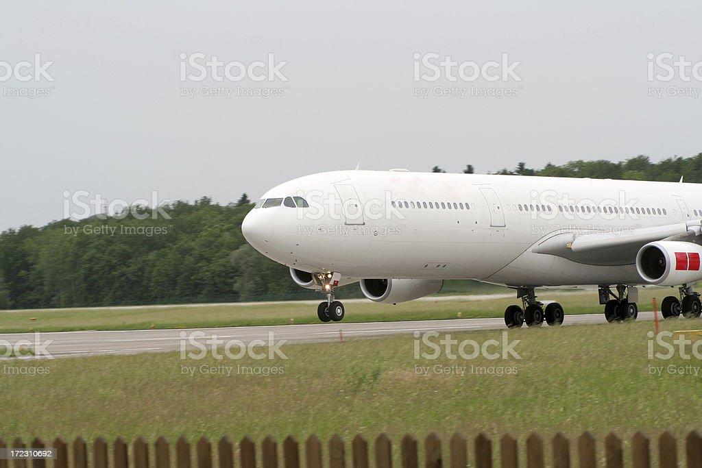 airplane up stock photo