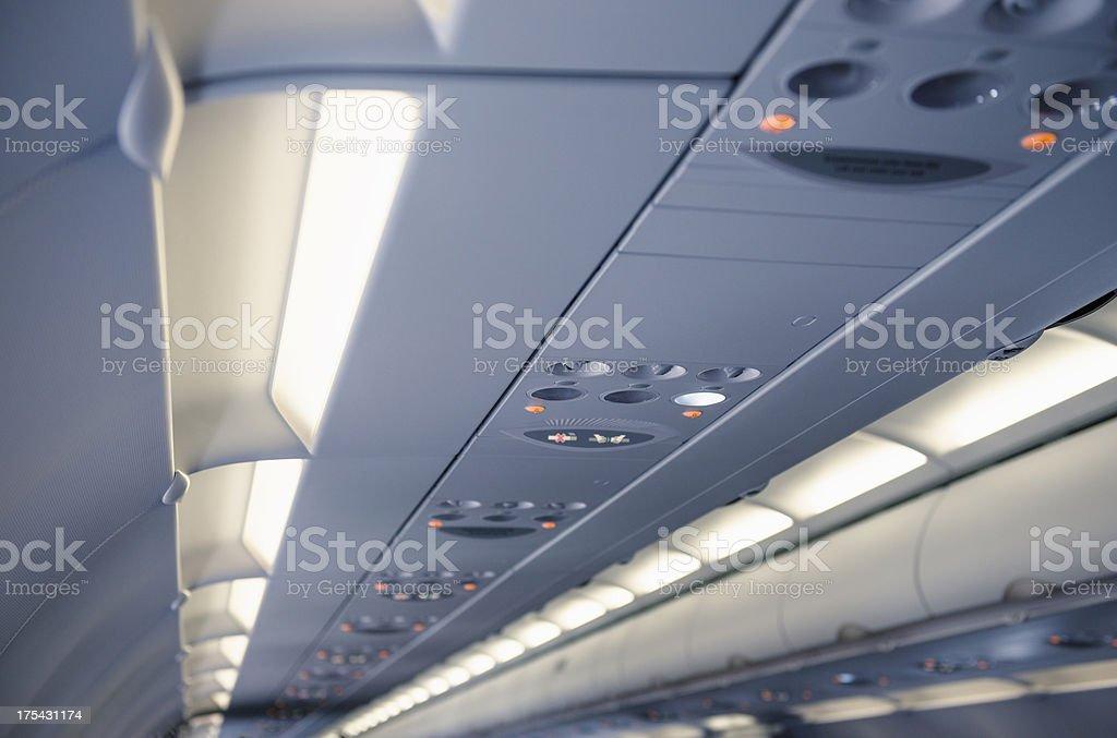 Airplane vehicle interior
