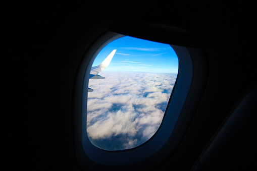 Airplane Window Seat View Stock Photo Download Image Now Istock