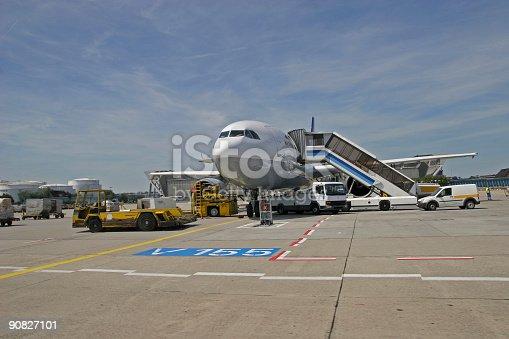istock Airplane work 90827101