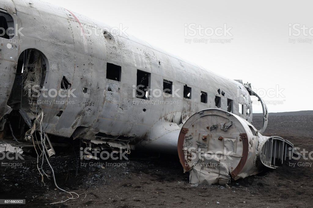 Airplane Wreck Stock Photo - Download Image Now - iStock