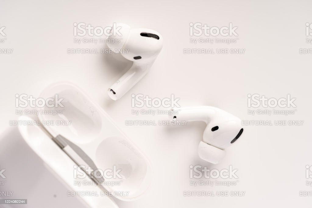 Airpods Pro - Royalty-free Apple Airpod Stockfoto