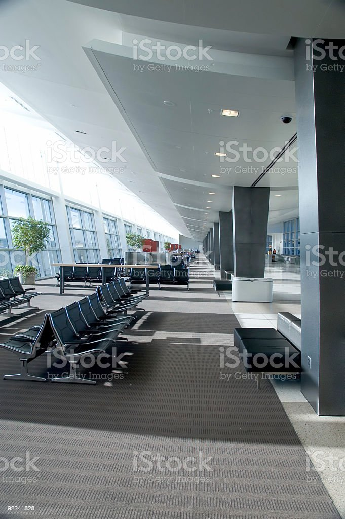 Airport 5 royalty-free stock photo